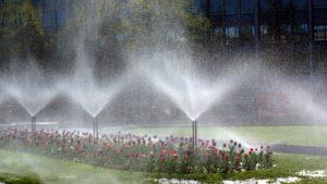 Bewässerungstechnik ist mit ParkOrga steuerbar